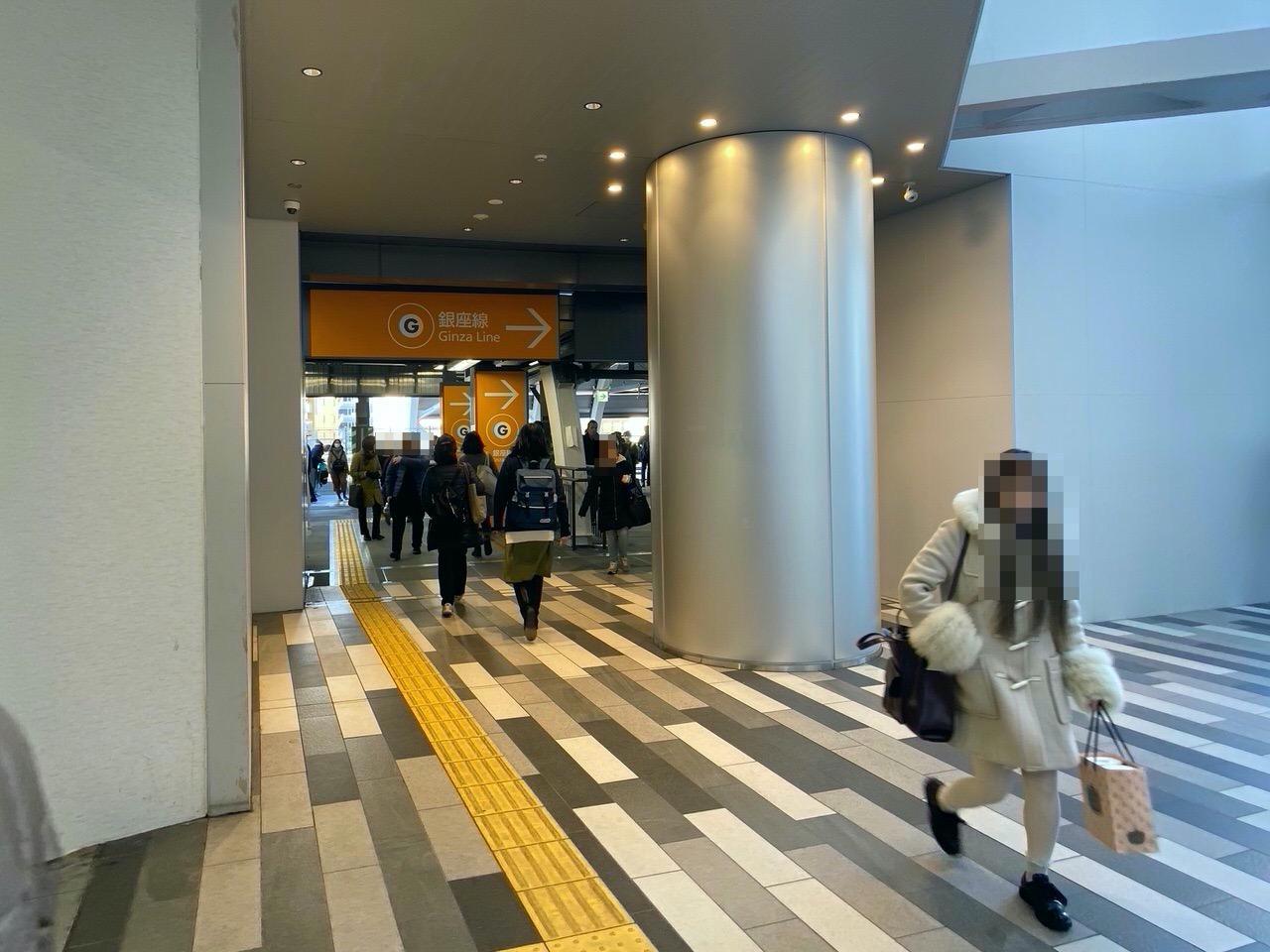 JR渋谷駅に新設された中央東改札を利用してみた 4