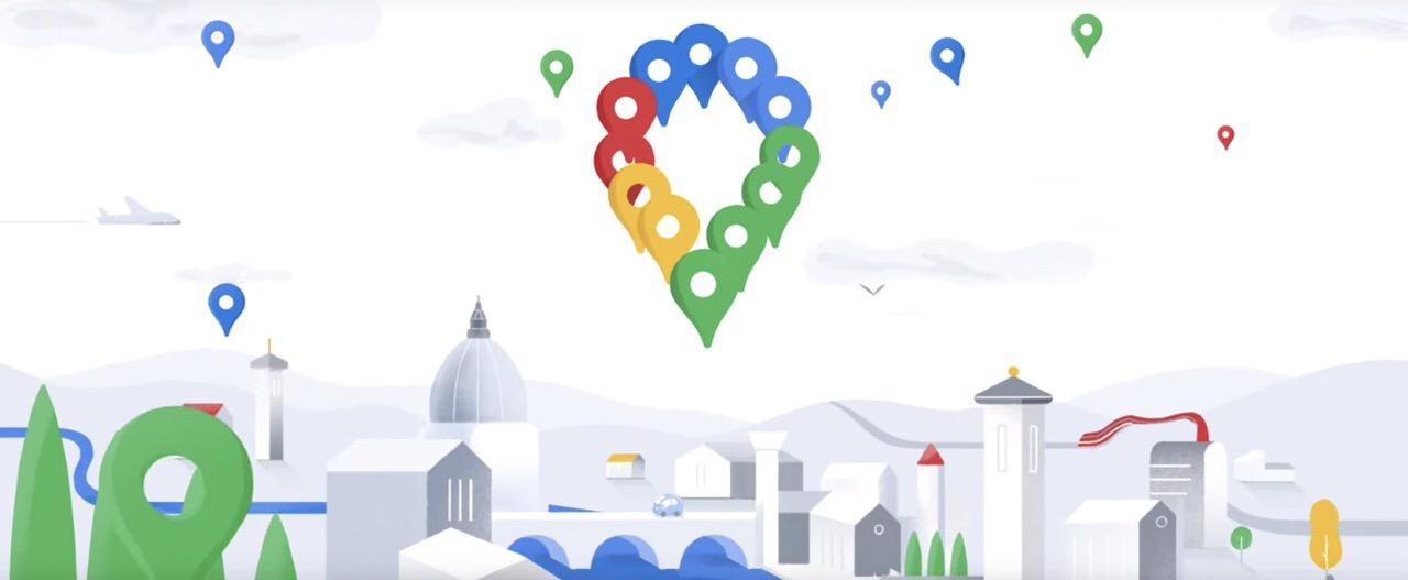 「Googleマップ」が15周年、簡単にアクセスできる5つのタブ(スポット、経路、保存済み、投稿、最新)が登場へ
