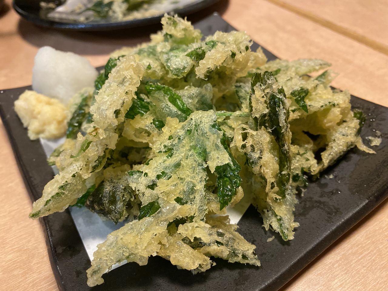 池袋「八丈島」明日葉の天ぷら&島寿司 12