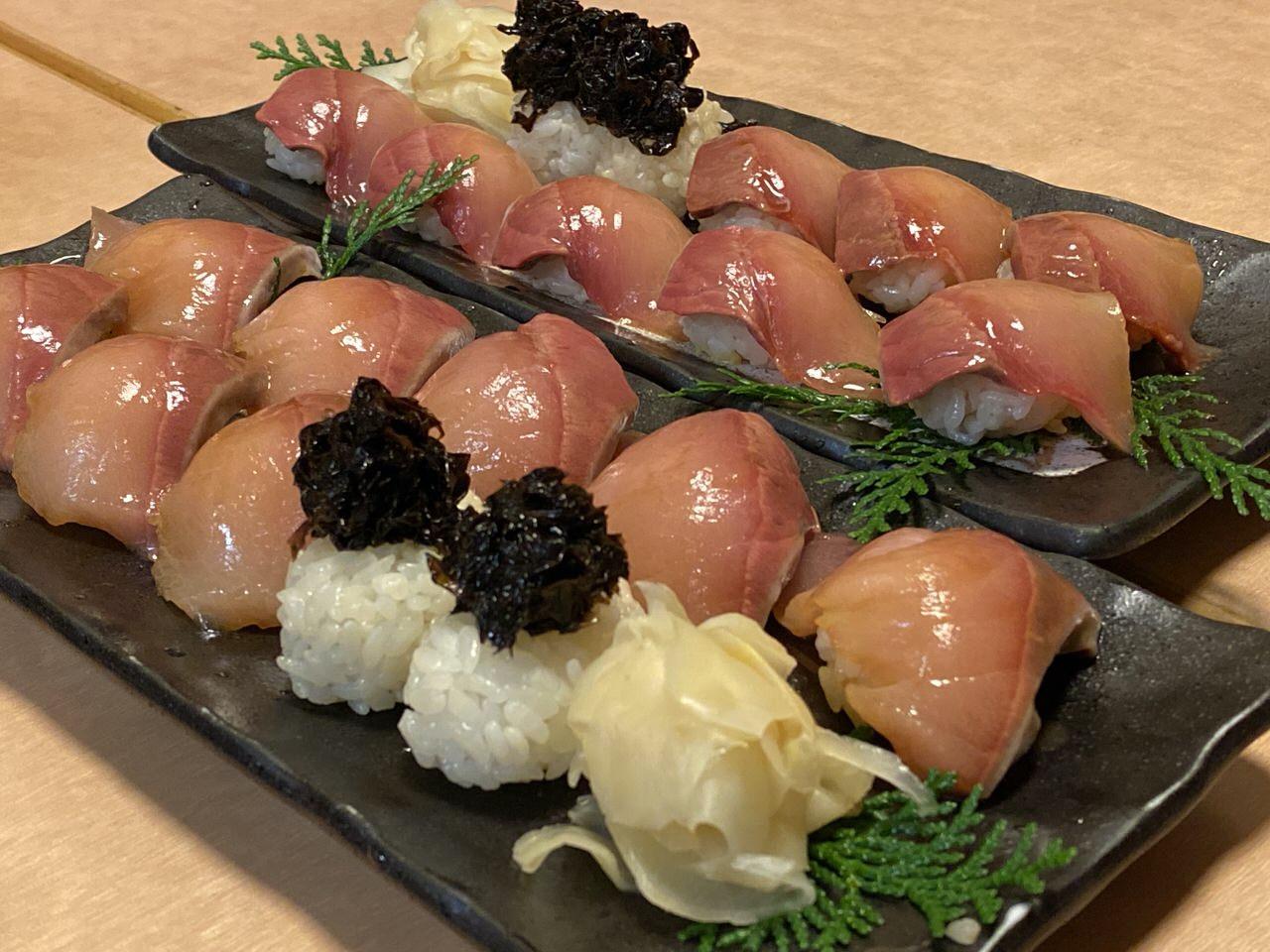 池袋「八丈島」明日葉の天ぷら&島寿司 19