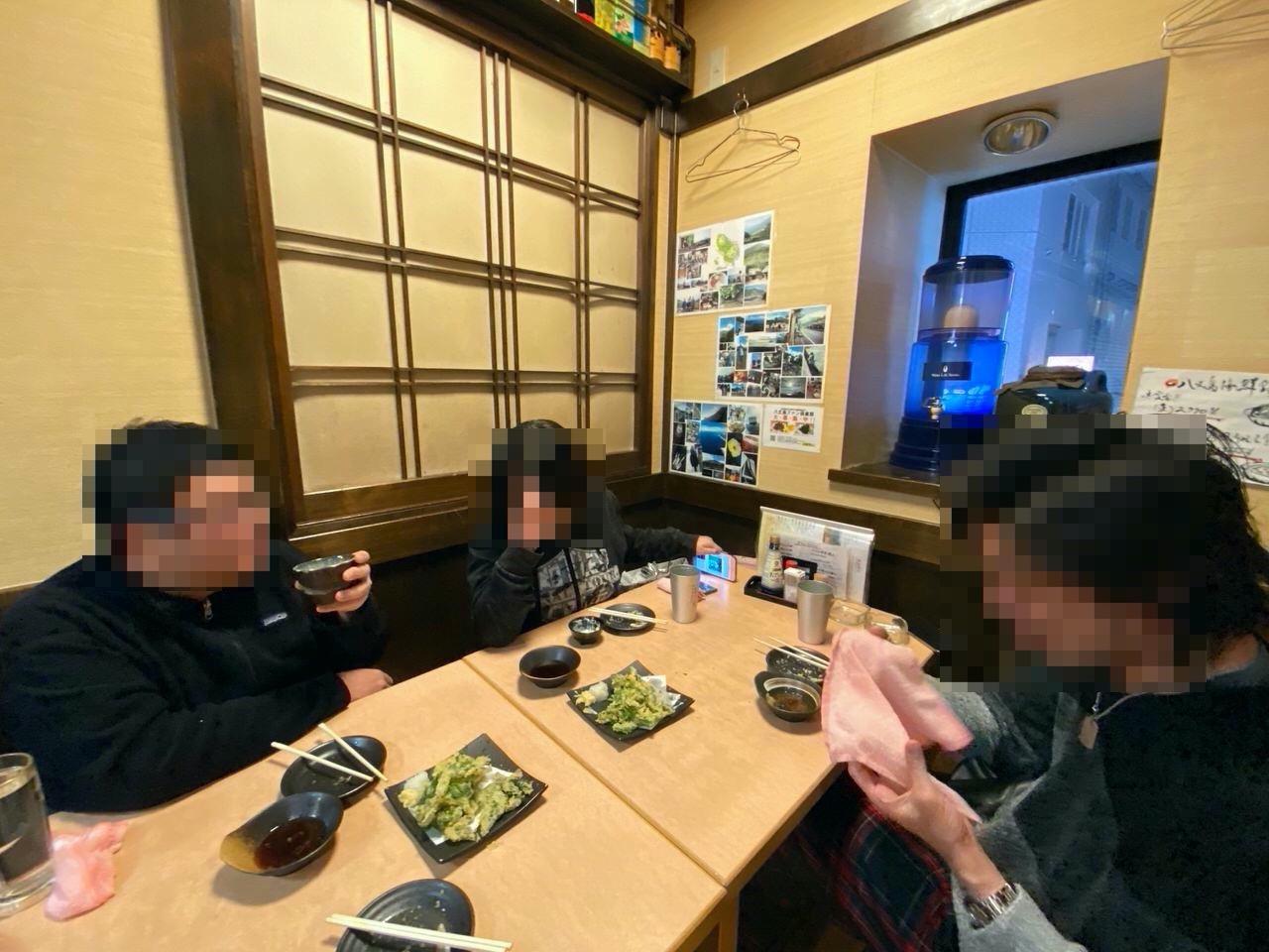 池袋「八丈島」明日葉の天ぷら&島寿司 8