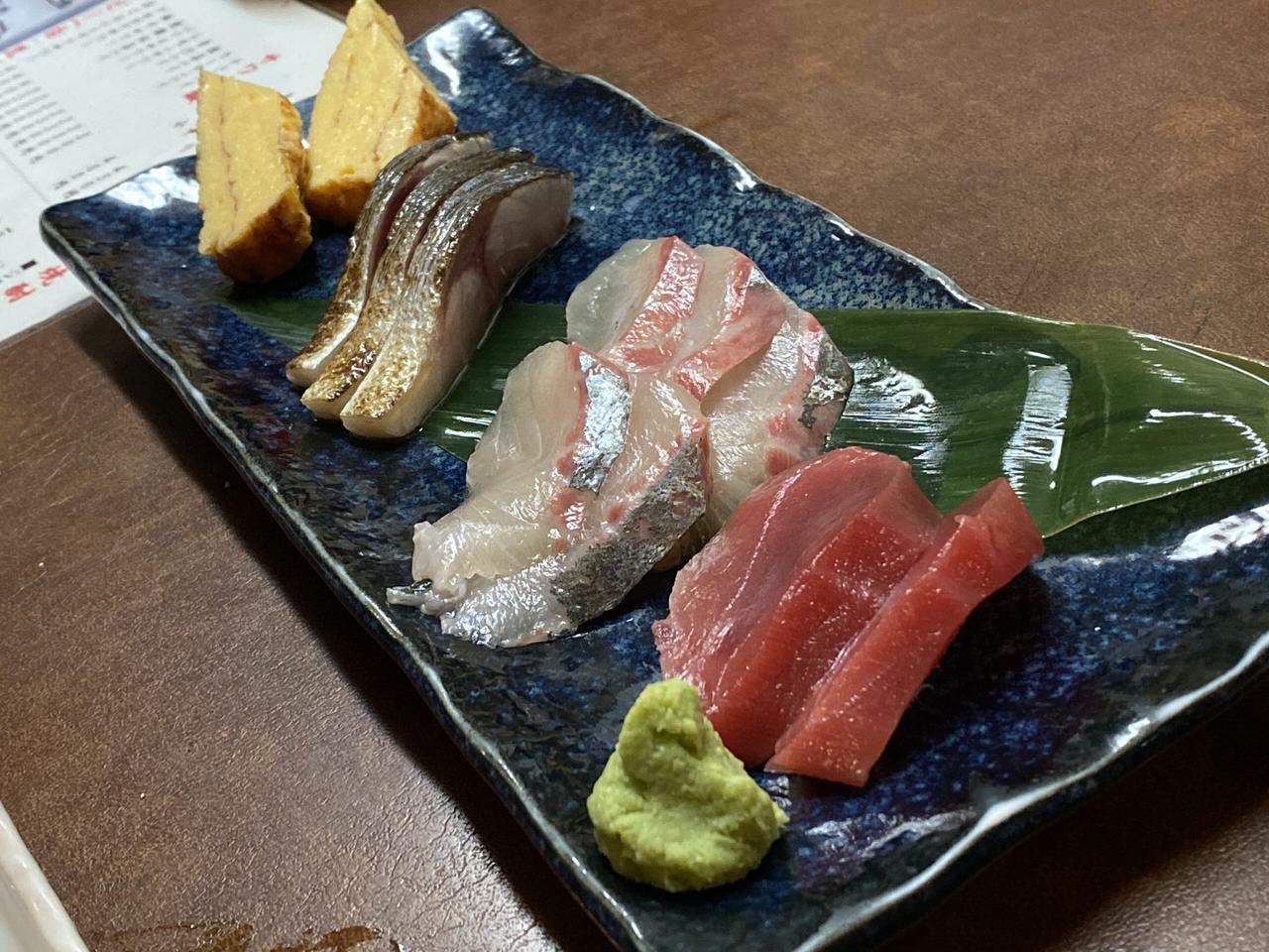 「ほりかご」居酒屋(板橋)13 刺身