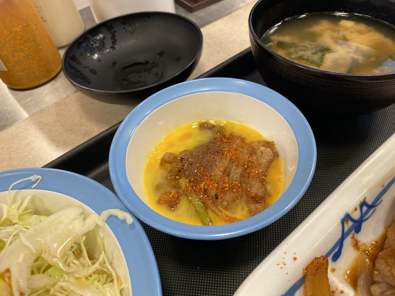 【松屋】プルコギ定食 7