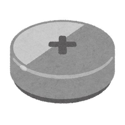 ボタン電池の品番「CR2032」は直径20mm・厚み3.2mmの意味