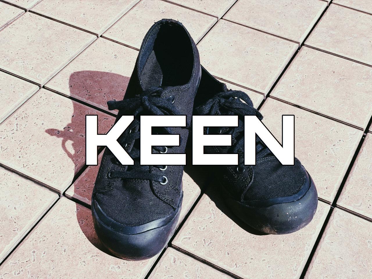 【KEEN】つま先が丸くて幅がたっぷりでレトロなキャンバススニーカー「コロナド III」を履いてみたオジさん #提供