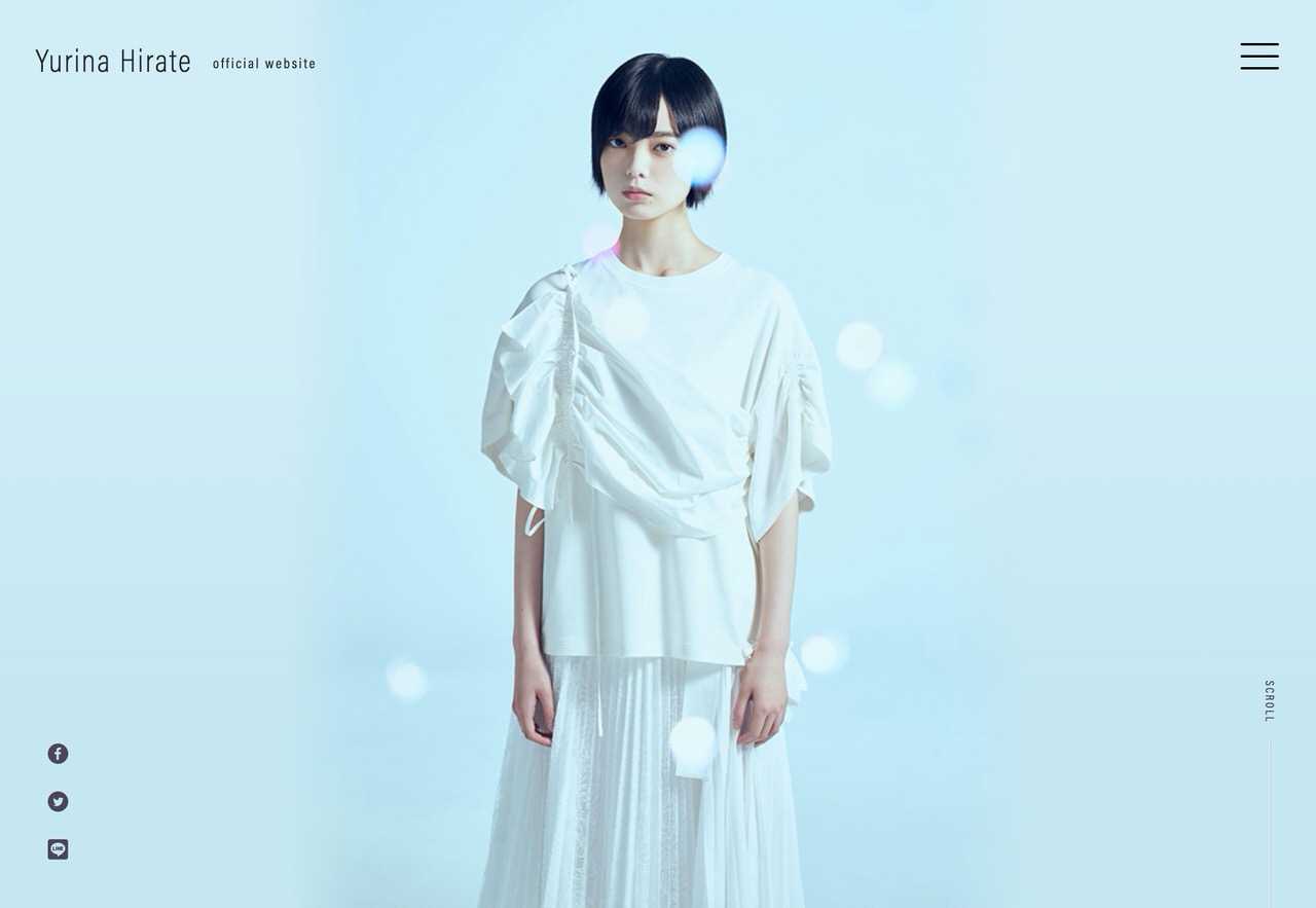 欅坂46を脱退した平手友梨奈がオフィシャルサイトを開設