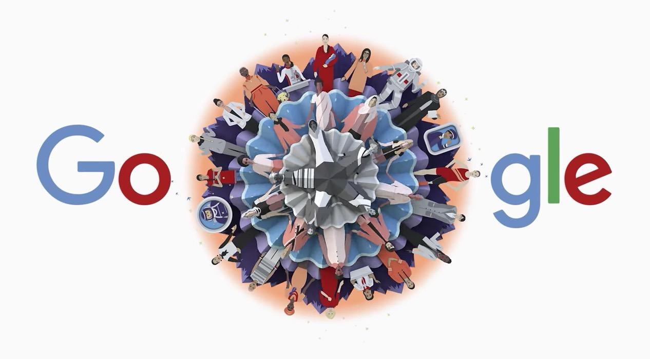Googleロゴが「国際女性デー」に(2020)