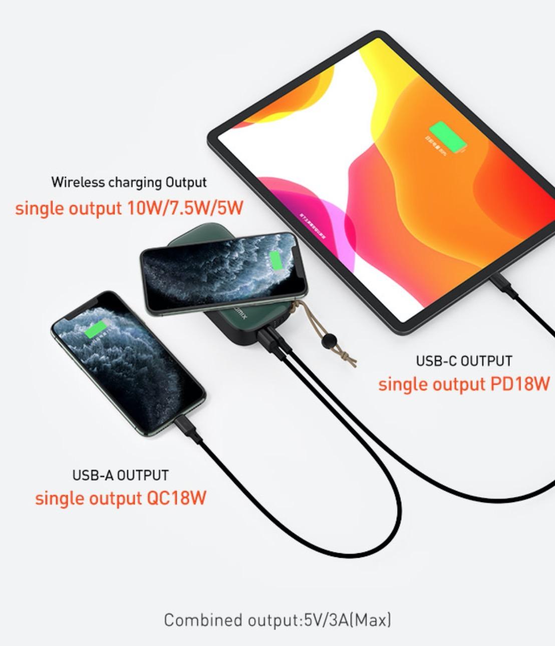 コンセント・モバイルバッテリー・ワイヤレス充電・トラベルプラグが4 in 1になったハイブリッドチャージャー「Mr. Charger 2.0」