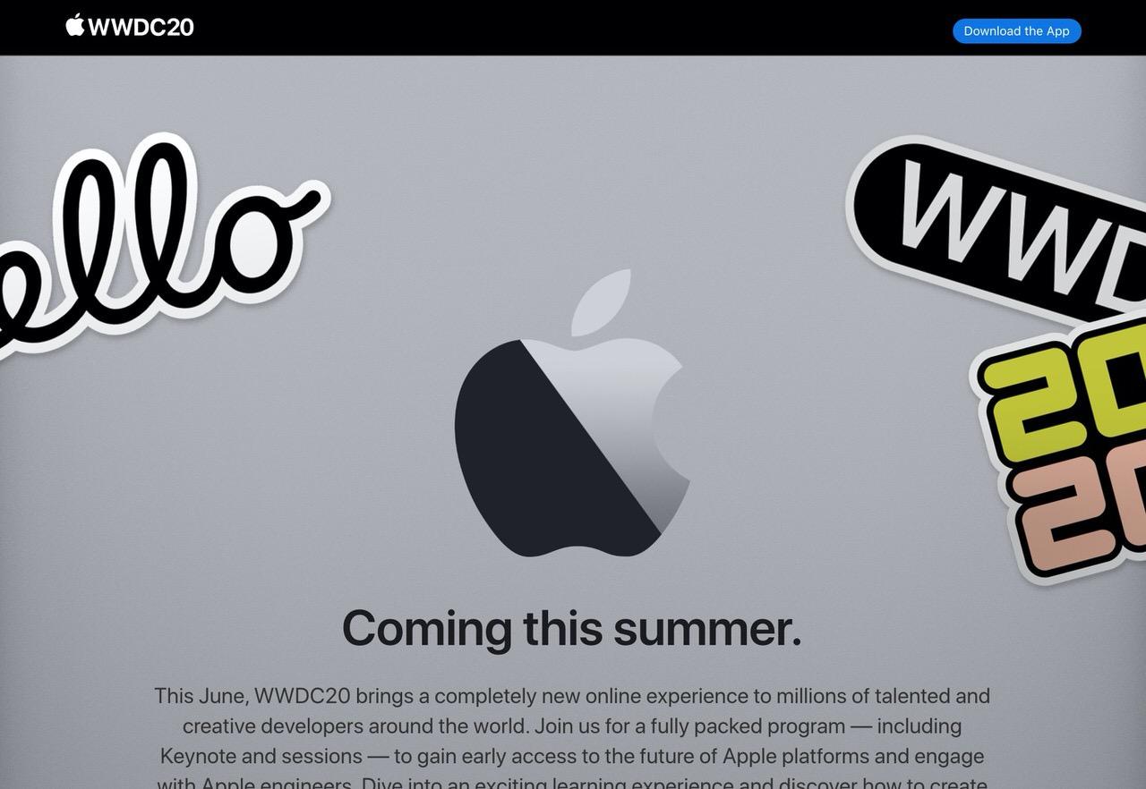 Apple「WWDC 2020」は初のオンライン形式で開催へ
