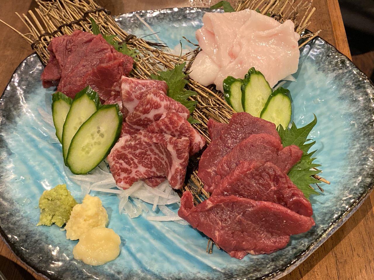 「秋葉原 肉寿司」11