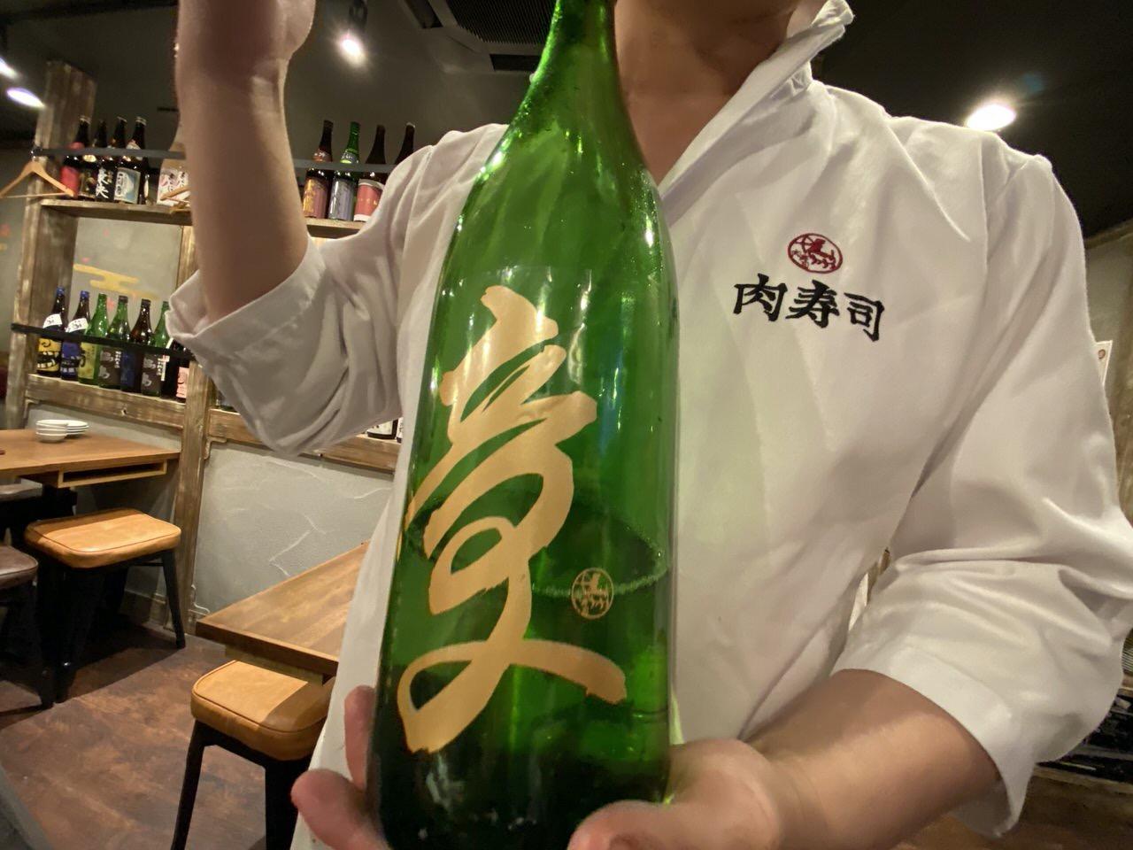 「秋葉原 肉寿司」15