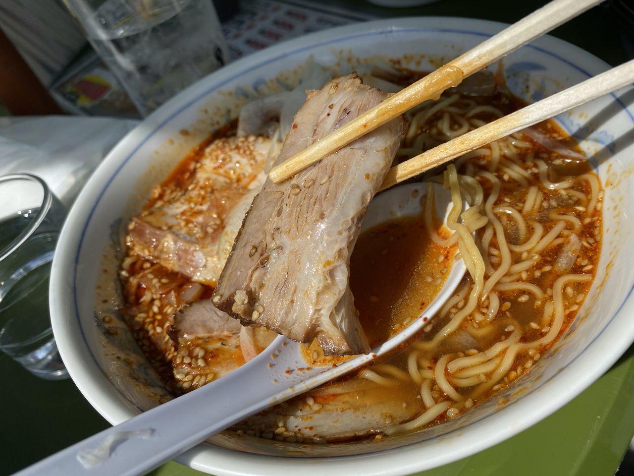 「お食事処 いしい」勝浦タンタンメン 15