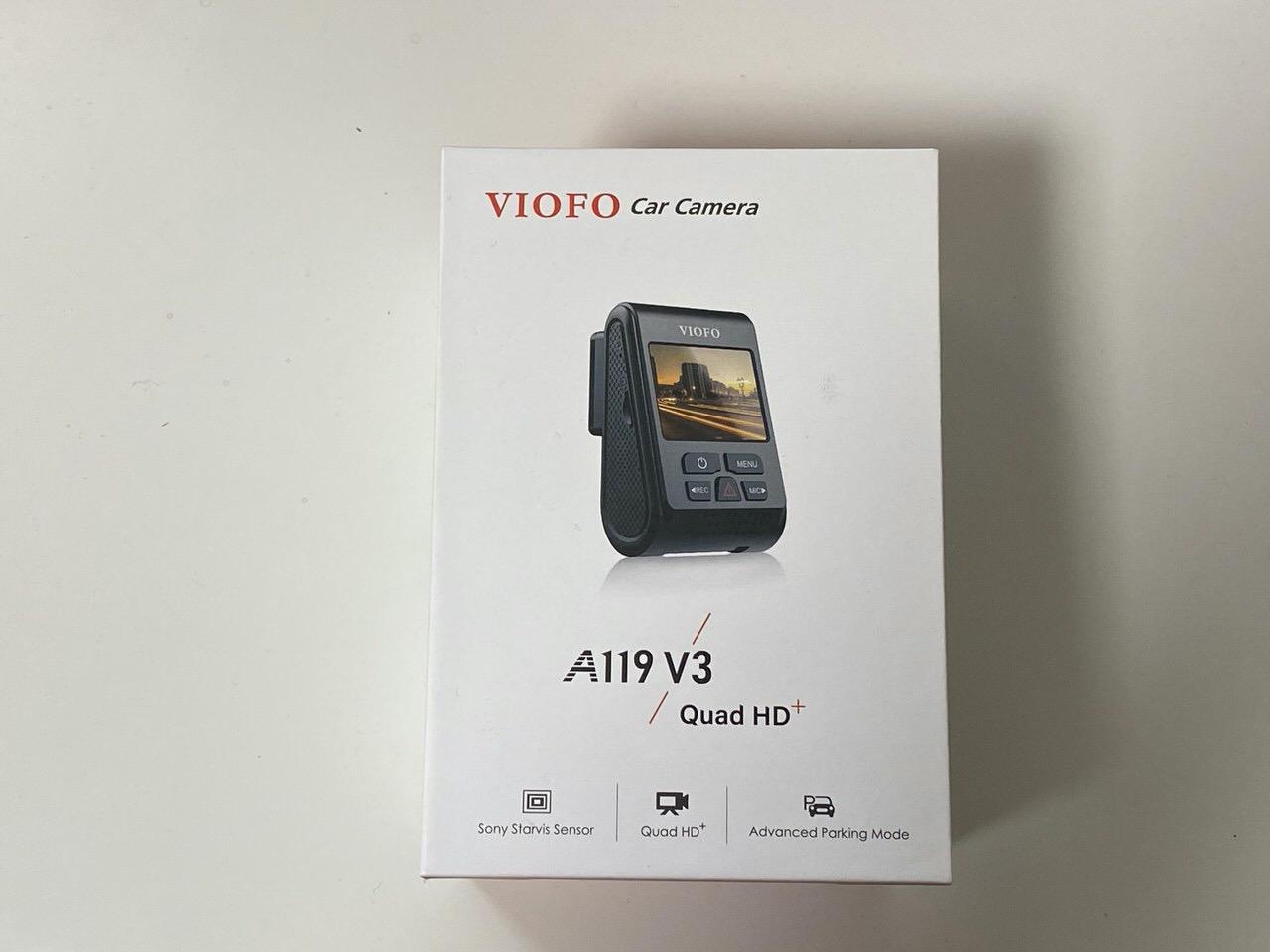 ドライブレコーダー「VIOFO A119 V3」1