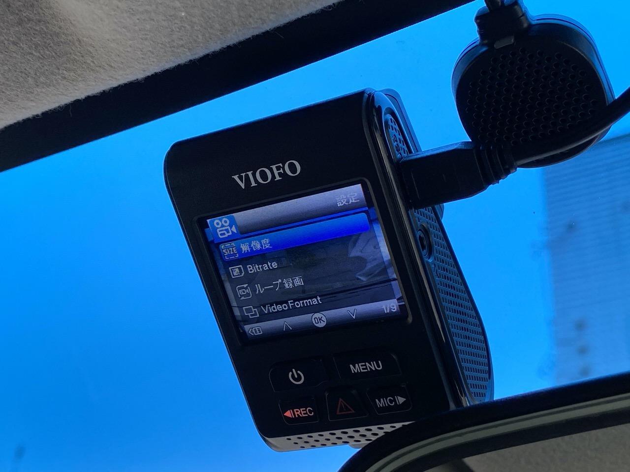 ドライブレコーダー「VIOFO A119 V3」14
