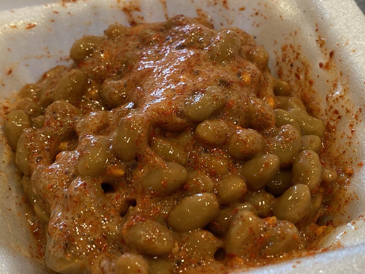 納豆にピリ辛クミン塩「羊名人」5