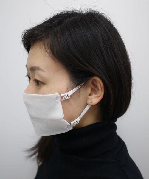 ガーゼやクロスをマスクにするマスク用ストラップ「なんでもマスク」4月7日より発売開始
