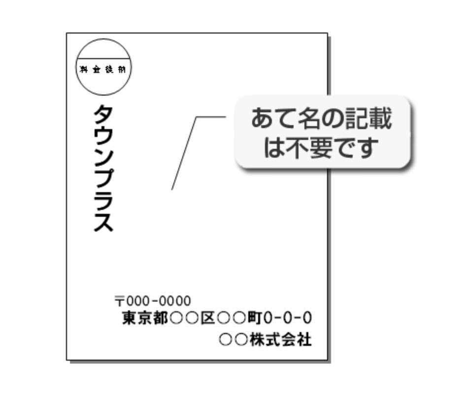 マスク全戸配布に使われるのは宛名書きも必要ない郵便局のポスティングサービス「タウンプラス」