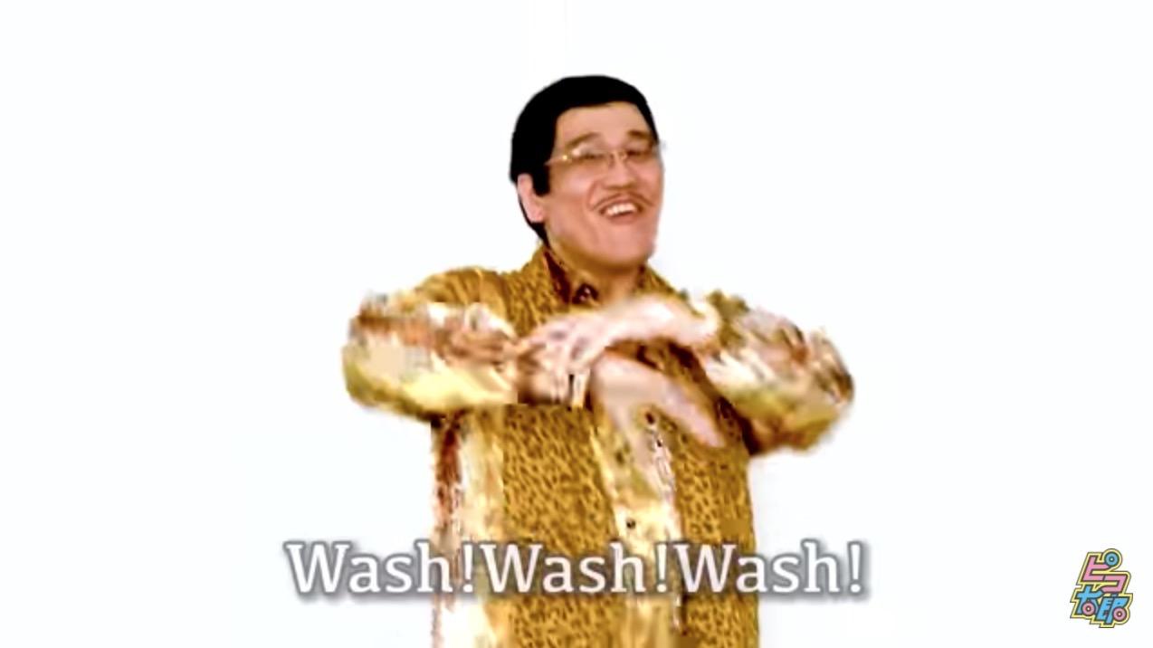 ピコ太郎、手洗いを推奨する「PPAP-2020-」公開