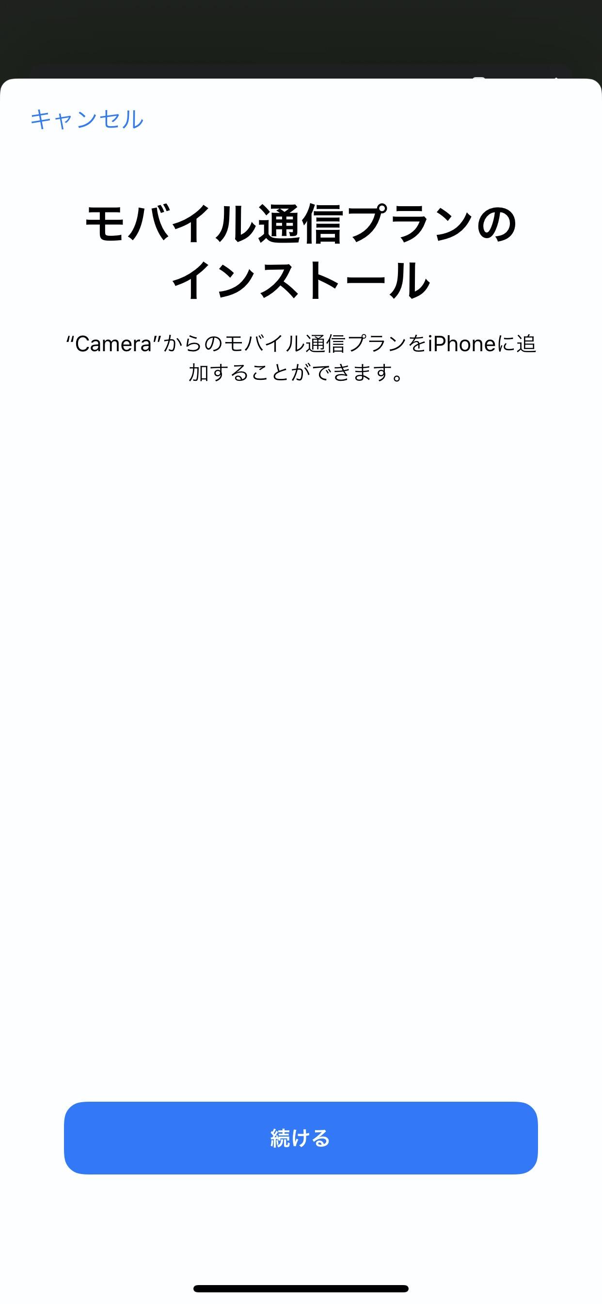 【楽天モバイル】iPhone 11でeSIM設定 16