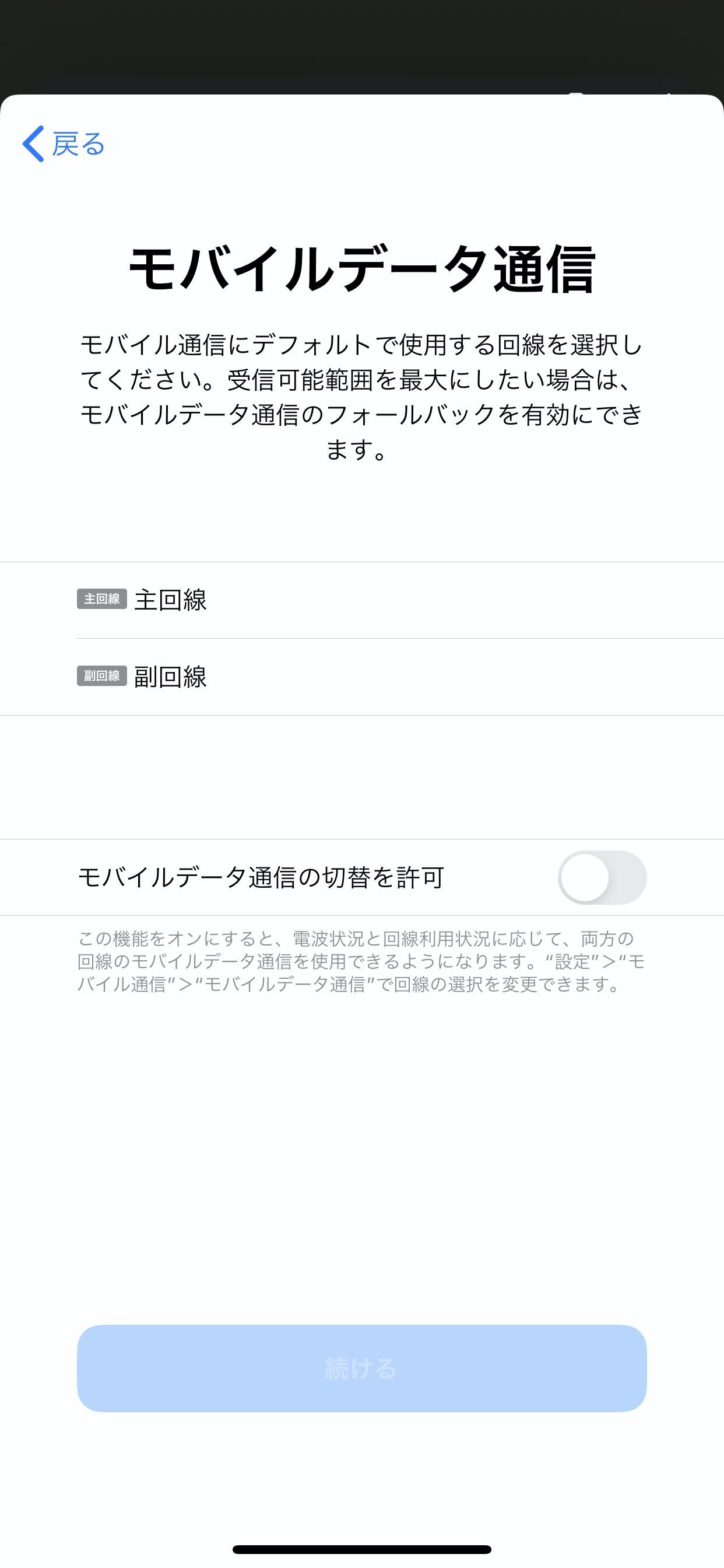 【楽天モバイル】iPhone 11でeSIM設定 21