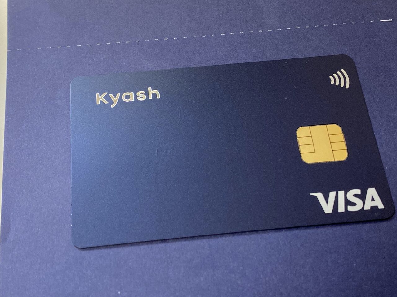 「Kyash Card」カード有効化&Apple Pay 3