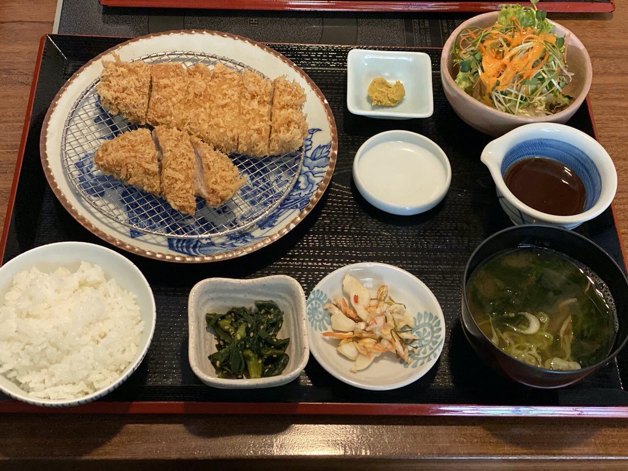 【テイクアウト】「豚組しゃぶ庵」とんかつ弁当 1