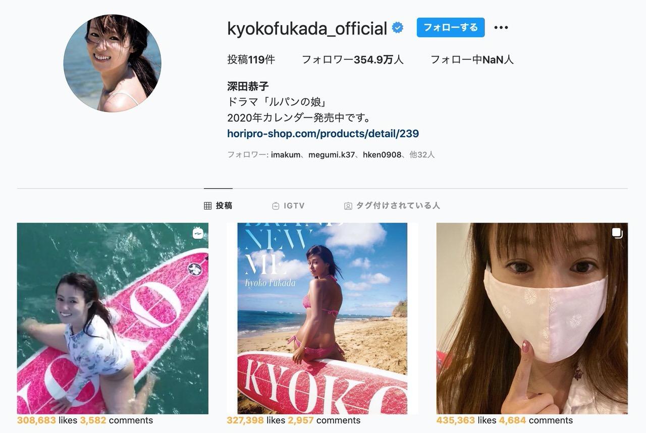 深田恭子、Instagramに写真集用のドローン撮影したサーフィン動画を投稿