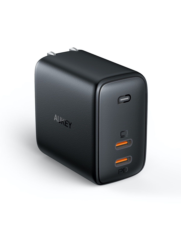 GaN素材で小さく軽く充電スピードを高速化したPD充電器「AUKEY Omnia」発売記念で20%オフセール開催中