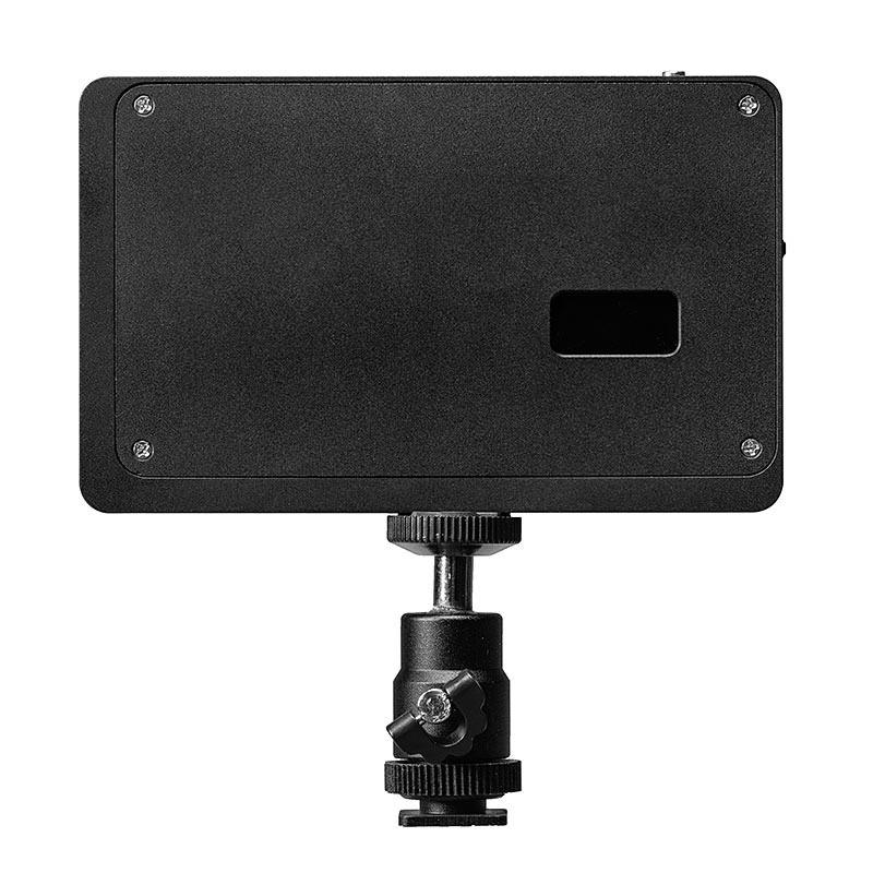 写真&動画撮影に使える色温度などを表示できるディスプレイ付きLEDライト(200-DG019)