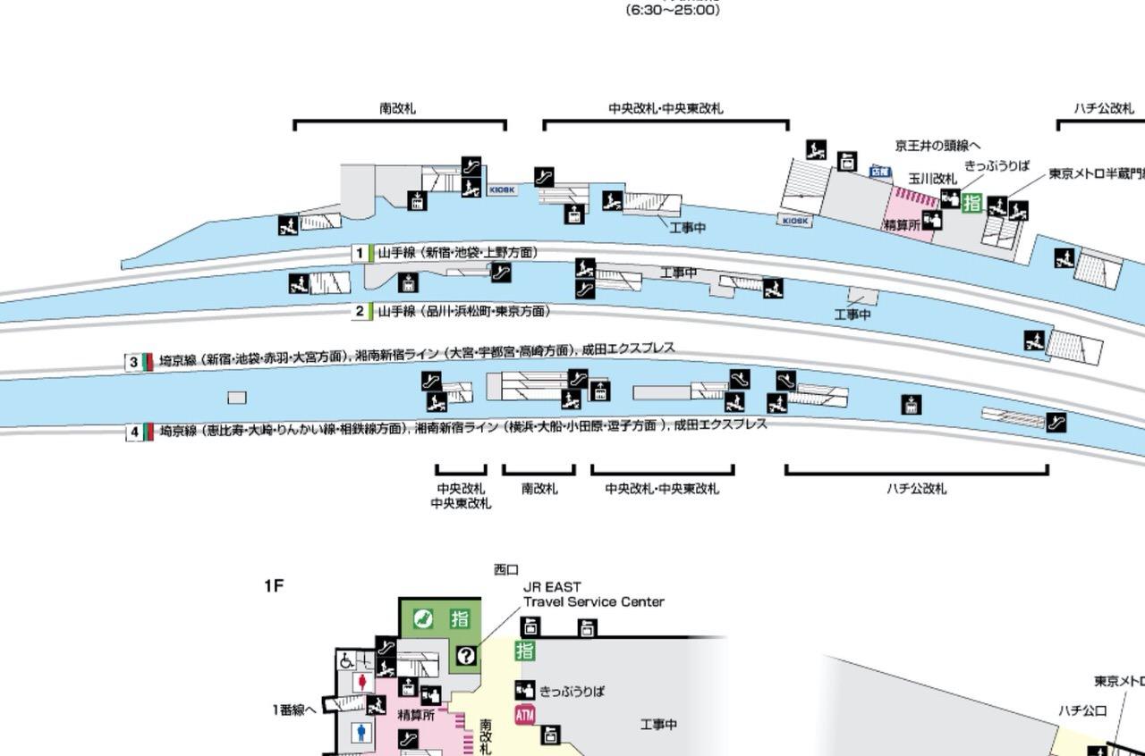 【JR渋谷駅】埼京線・湘南新宿ラインのホームが北へ350m移動完了