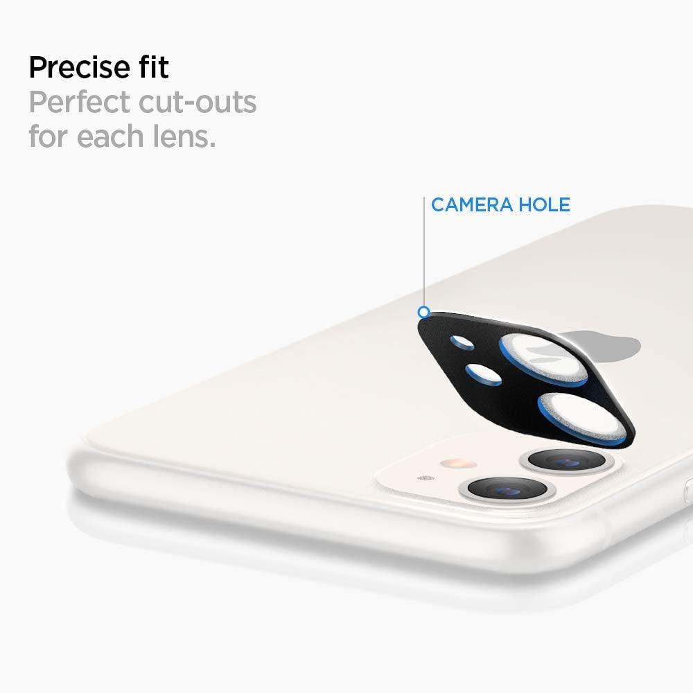 Spigen、iPhone 11/11 Pro/11 Pro Maxのカメラ部分をフラットにする強化ガラスフィルム「フルカバーカメラレンズ」を発売