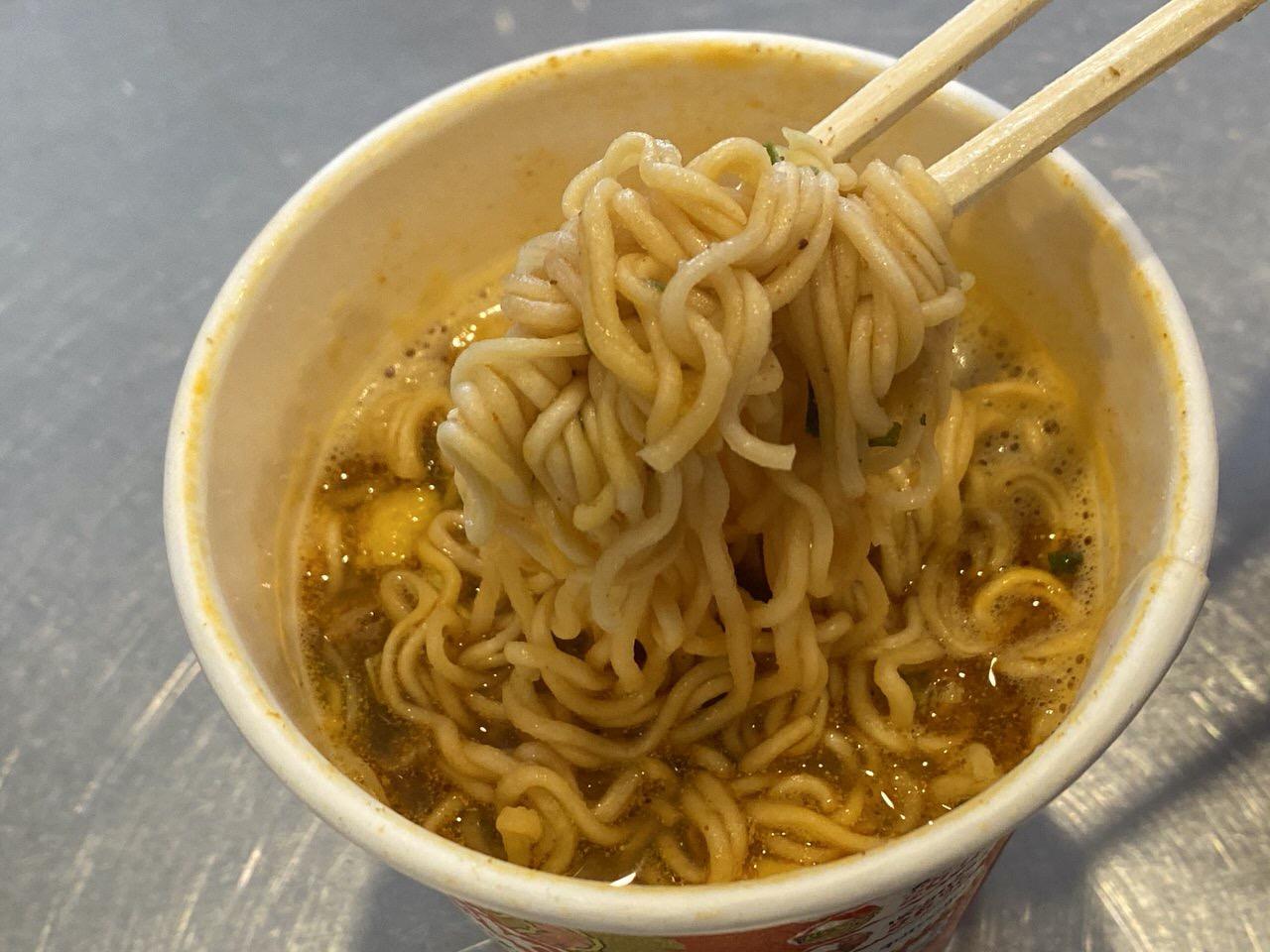 タイ日清「カップヌードル トムヤムクン味」7
