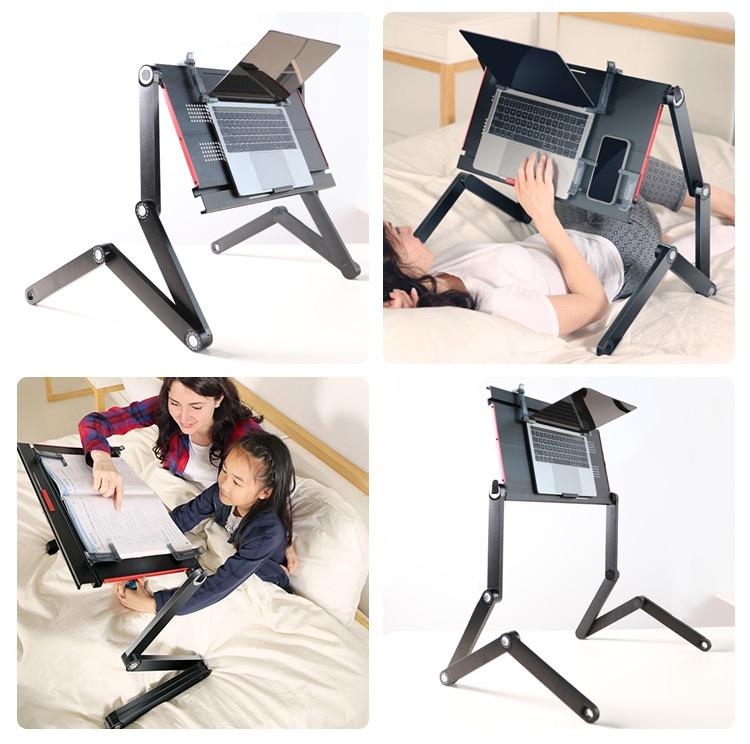 腰痛の時に欲しい!寝転んだままパソコン作業ができるフレキシブルパソコンデスク「X5Pro」