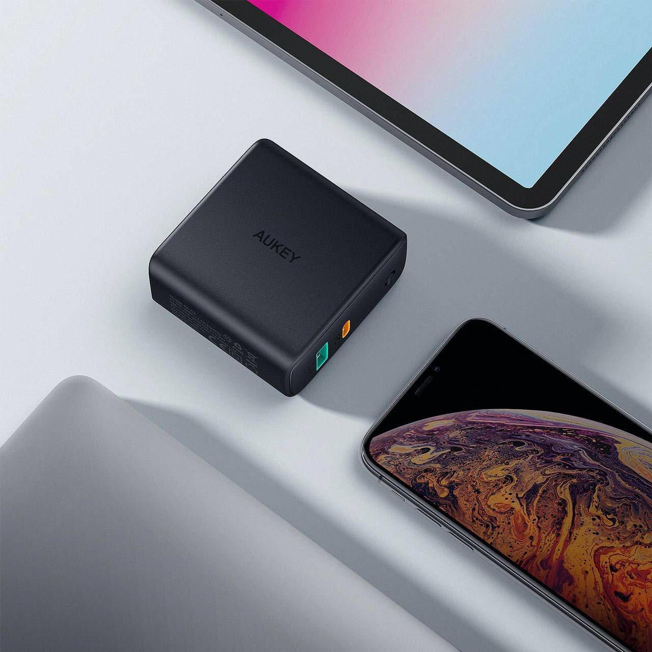 GaN採用し最大60WでUSB&USB-Cの2ポート急速充電器「PA-D3」Amazonセールで25%オフの2,985円