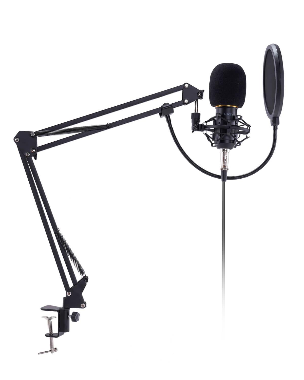 AUKEY、単一指向性で高音質のコンデンサーマイク「GD-G2」発売記念の20%オフセールで4,688円【品切れ】
