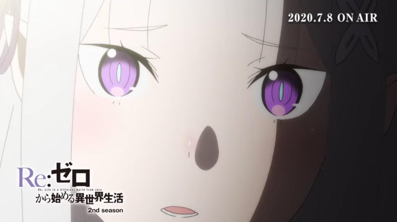 「Re:ゼロから始める異世界生活」2nd seasonのPV公開&7月8日より放送開始