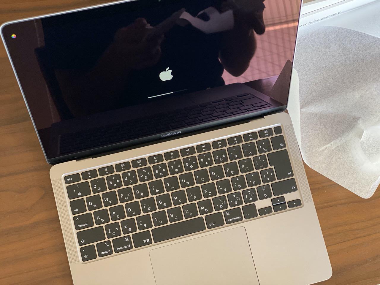 長男のオンライン授業用に購入した「MacBook Air」が届いたけれど
