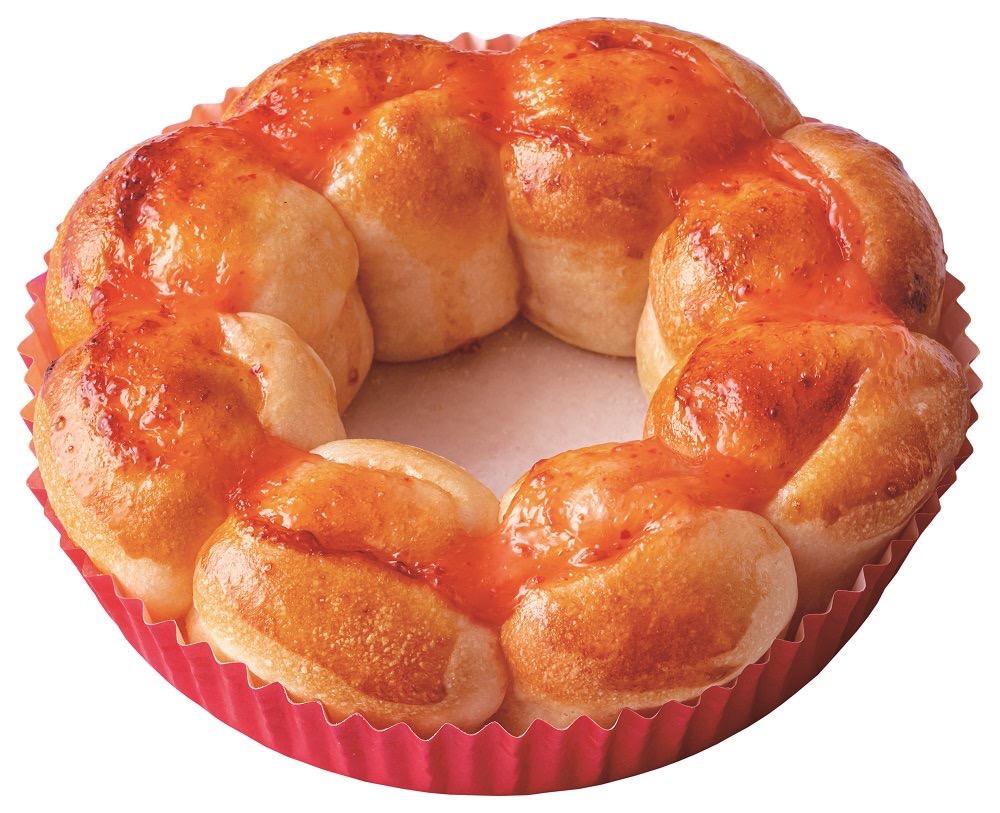 【ミスタードーナツ】ポン・デ・リングの形と食感をパンで表現した「ポン・デ・ちぎりパン」発売(6/19から)