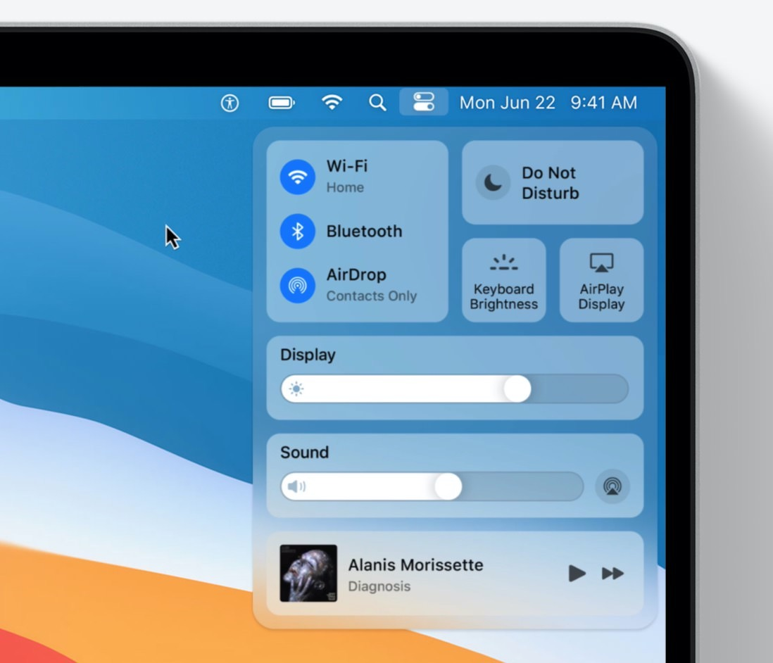 新しいDock・コントロールセンターなどの新機能を搭載した「macOS Big Sur」発表