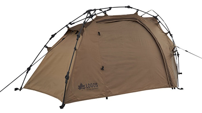 たった3分の簡単設営テント!軽量&コンパクトな1人用テント「neos Q-TOP リバイバルSOLO DOME-BJ」