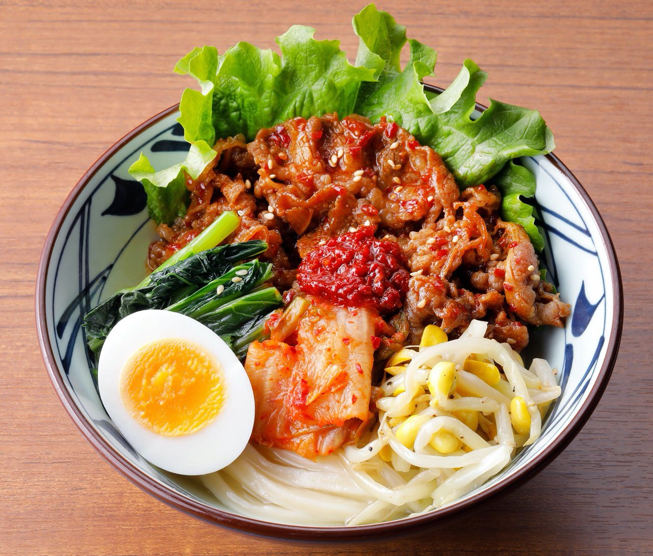 【丸亀製麺】夏季限定「牛焼肉冷麺」「辛辛 牛焼肉冷麺」7/14より発売開始