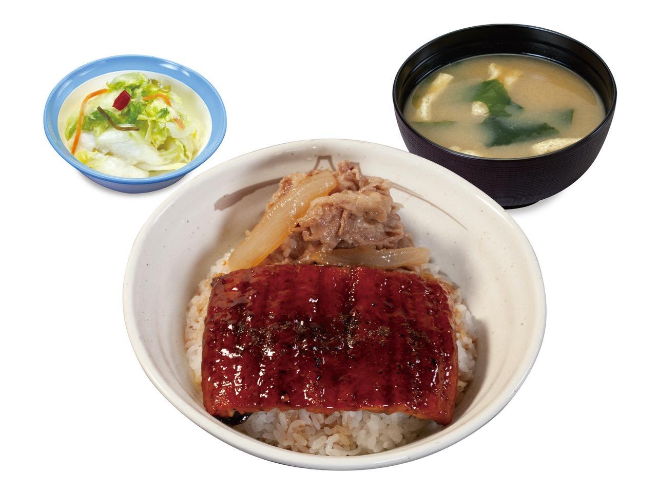 【松屋】松屋特製うなぎダレをかけた「うな丼」発売(7/14〜)