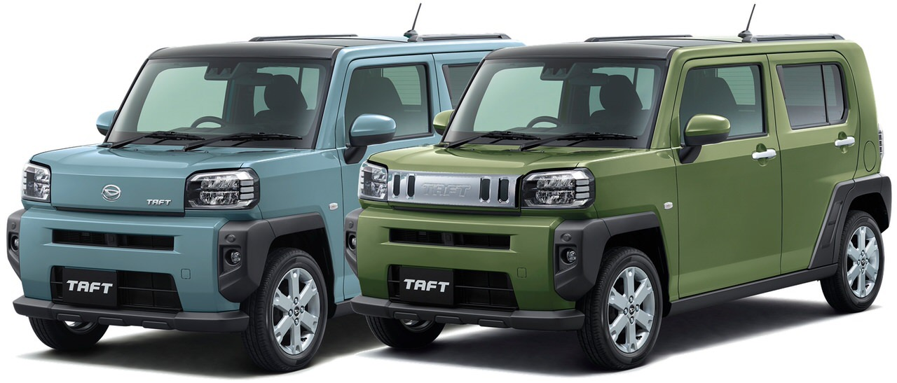 ダイハツの新型軽クロスオーバー「タフト(TAFT)」月販目標台数の4.5倍となる約18,000台を受注と発表