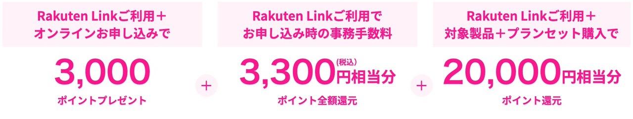 【楽天モバイル】「Rakuten UN-LIMIT」と対象製品のセット購入で最大26,300円分の楽天ポイント還元キャンペーンを開始(8/5まで)