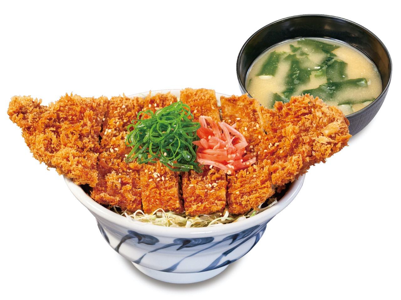 【松のや】丼からはみ出すわらじサイズのかつがどん!「わらじかつ」7月22日より発売