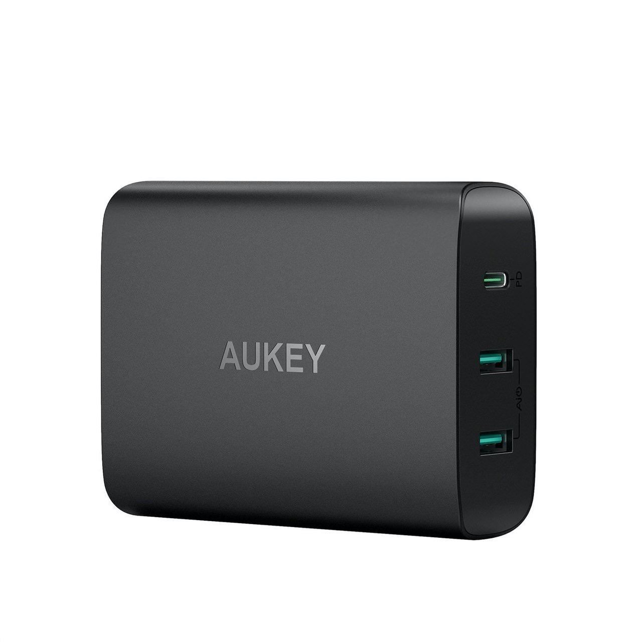 3台同時にフルスピード充電できるPD3.0対応60W急速充電器「AUKEY PA-Y12」が40%オフの2,999円(8/5まで)