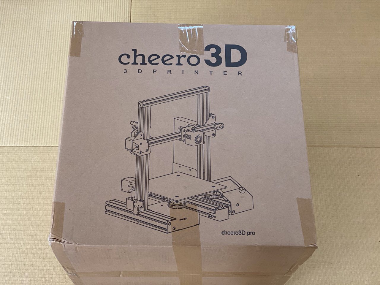 【3Dプリンター「cheero3D Pro」2