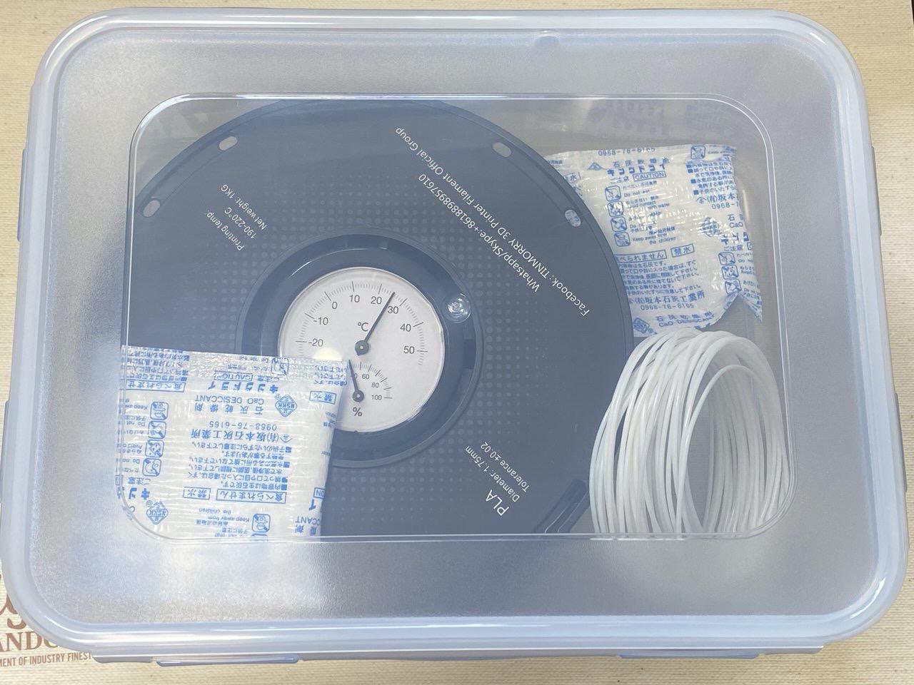【3Dプリンター】フィラメント用の防湿庫 11