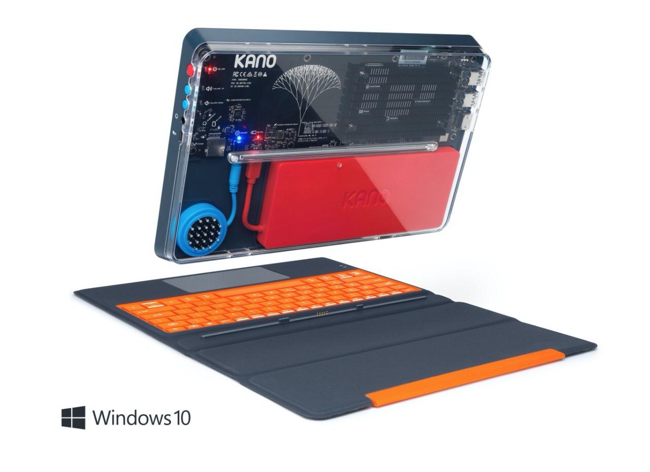 背面スケルトンでカッコカワイイ子供向けパソコン「Kano PC」Windows 10搭載で日本でも39,800円で発売へ