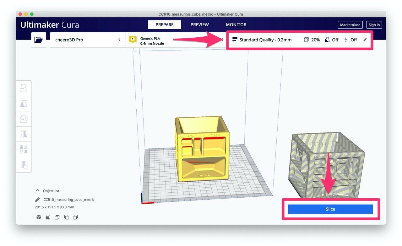 【3Dプリンター】印刷する手順 7